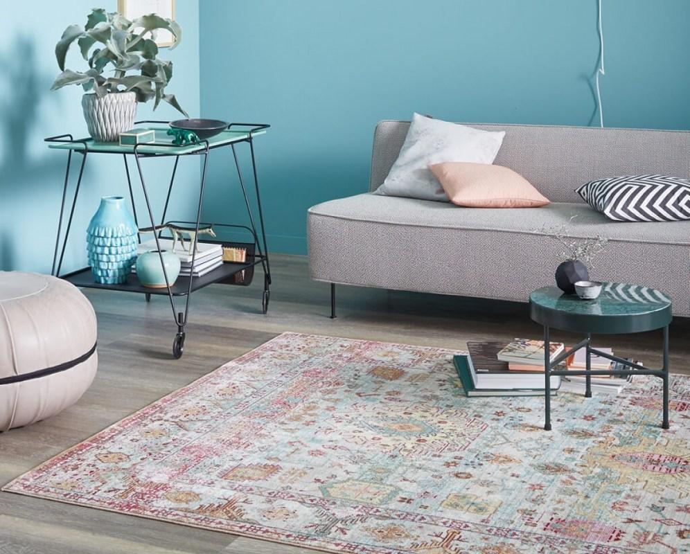 koberce sch ner wohnen shining erveno oran ovo b ov vzor. Black Bedroom Furniture Sets. Home Design Ideas
